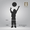 Sky Silver - Emirati-Styled Boys Glossy Jubah (Thobe)
