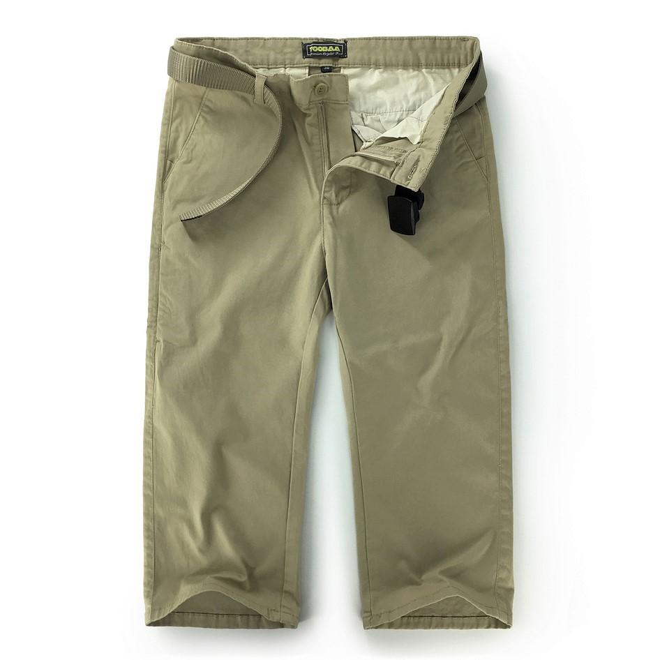 Beige Vintage Men Chino Sunnah Pants (1)