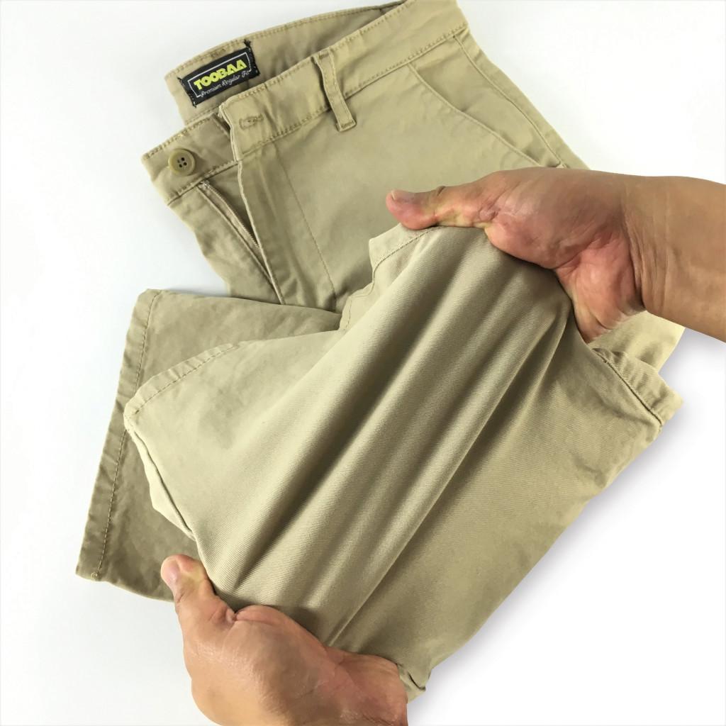 Beige Vintage Men Chino Sunnah Pants (10)