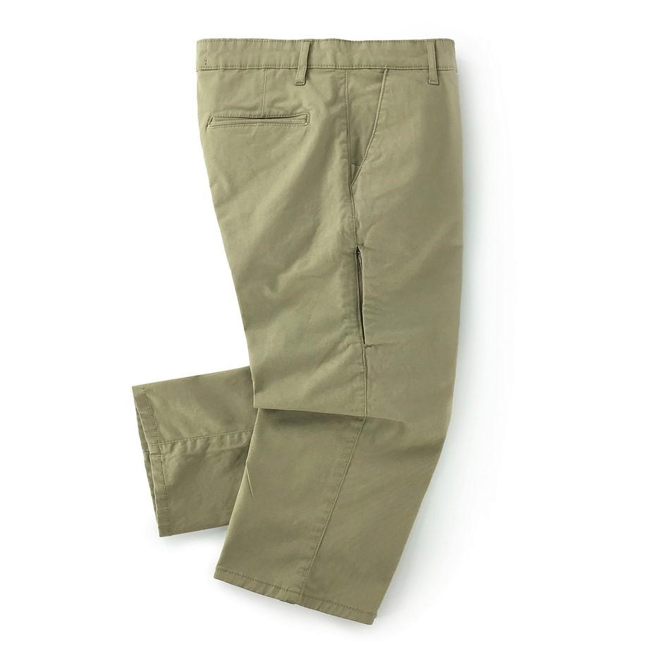Beige Vintage Men Chino Sunnah Pants (2)
