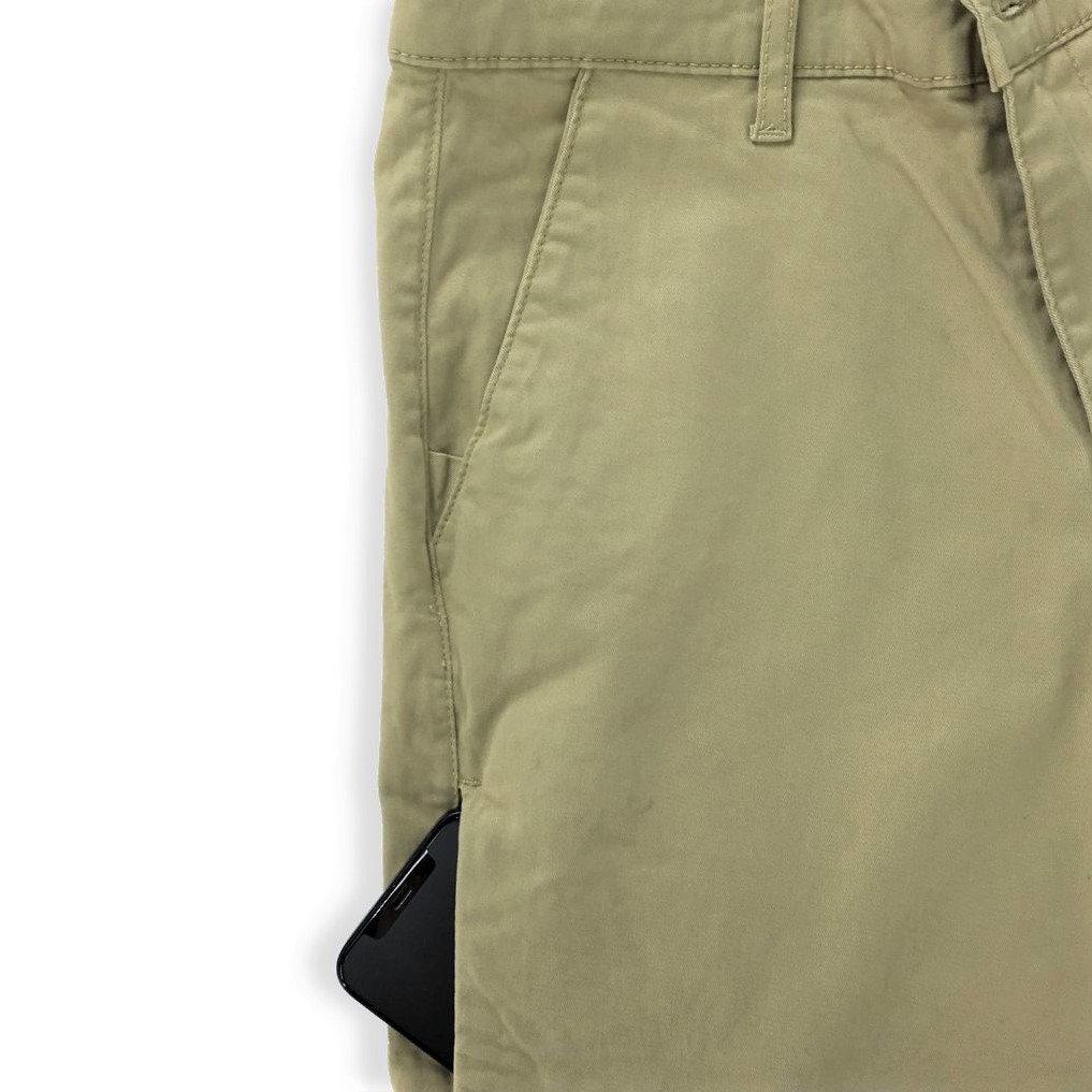 Beige Vintage Men Chino Sunnah Pants (4)