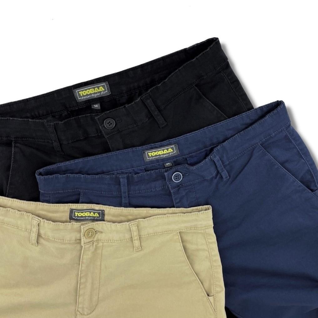 Beige Vintage Men Chino Sunnah Pants (9)