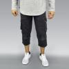 Dark Grey Stretch Denim - Men's Sunnah 4/5 Length Pants