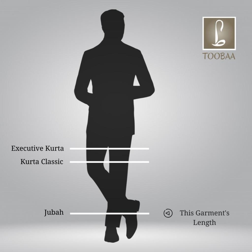 Length Diagram – Men Jubah